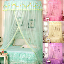 4Colors Princess Bed Canopy Mosquito Net King Size Netting Bedroom Mesh Curtains