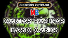 Multi-Anuncio Cartas Básicas de Cruzada Estelar / Space Crusade's Basic Cards MB