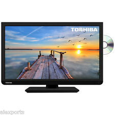 "Toshiba 24D1433DB 24"" Widescreen 720P HD LED TV with Built-In DVD Player"