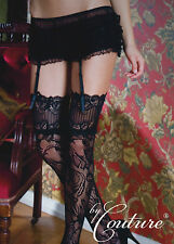 **LIMITED EDITION** Frilly Burlesque Knickers with Detachable Suspenders M/L/XL