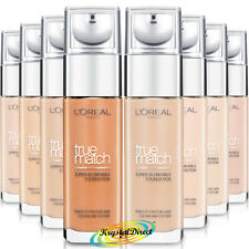 Loreal True Match Super Blendable Foundation 30ml, 24H Hydration - Choose Shade