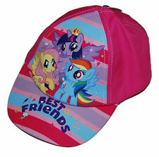 Girls My Little Pony 'Best Friends' Baseball Cap  Age 4-8 Years BNWT