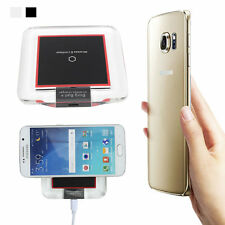 Acrylic Qi Wireless Charger Charging Pad Transmitter For iPhone 6S Plus Samsung