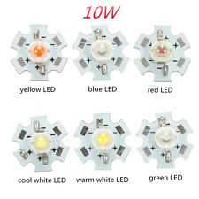 10W High Power LED PCB Bulb Beads Chips Car Indoor Reading Lamp Aquarium Heatsin