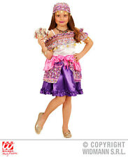 Girls Kids Gipsy Girl Outfit for Circus Romanie Gypsy Fancy Dress Costume