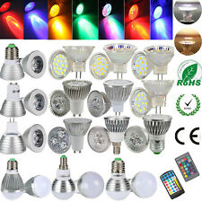 LED E27 E14 MR11 MR16 GU4 High Power Leuchtmittel Lampe Glühbirne Strahler Spot