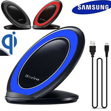 3-bobine Qi Wireless Charger Di ricarica Supporto Dock per Samsung Galaxy S7/