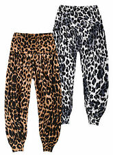 Girls 3/4 Length Ali Baba Trousers New Kids Baby Harem Pants 0-24 Months 2-13 Yr
