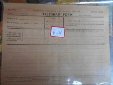 telegram telegraph FORM British india Malaya  - t101