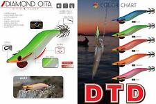 Totanare DTD Oita Diamond 2.5 Pesca Totani Calamari Seppie Squid Glow     RN