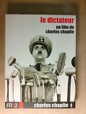 BOITIER 2 DVD / LE DICTATEUR / CHARLIE CHAPLIN / EDITION MK2 / COMME NEUF