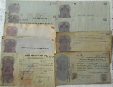 24 ALL DIFFERENT HUNDI PAPERS LOT - india