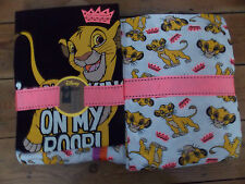 Ladies DISNEY THE LION KING SIMBA Pyjamas T Shirt  & PJ Bottoms Primark