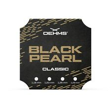 "OEHMS ""BLACK PEARL CLASSIC"" Co-Polyester Tennissaite, Tennis String, 200m"