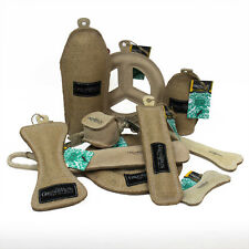Green & Wilds Eco Friendly Dog/Puppy Chew/Play Toy - Split Leather and Pure Jute