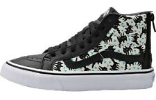 Vans Ladies SK8 Hi Slim Zip Skateboard Trainer Eley Kishimoto Sourpus Black