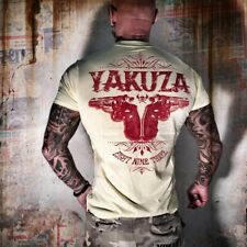 Neues Yakuza Herren Daily Use T-Shirt - Pale Banana
