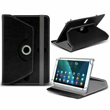 Giratorio piel artificial Soporte Tablet Funda para HP ElitePad 1000 G2 Tableta