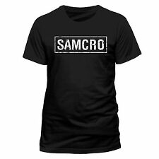 Official Sons Of Anarchy SAMCRO T Shirt Black S M L XL XXL Unisex NEW