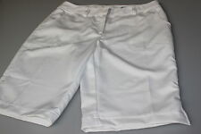 Ladies Callaway Performance Longer Leg Golf / Walking Shorts White 6 / 8 New