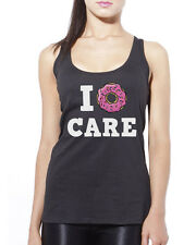 I Donut Care Doughnut - Baking Foodie Funny Womens Vest Tank Top