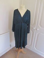 BNWT SOLD OUT @ ASOS MATERNITY BLACK & BLUE GLITTERY KIMONO DRESS MANY SIZES