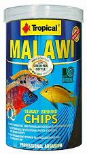 Tropical* Malawi Mbuna Chips* Special for Malawi slowly sinking *250,1000ml