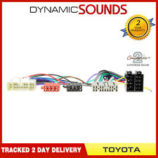 TOYOTA Land Cruise (2003 ) Parrot SOT T-Harness ISO Adaptor Lead CT10TY02