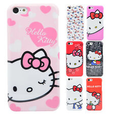 Hello Kitty Hülle [Colorful Series] iPhone Plastik Schale Case Hard Cover Tasche