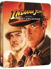 INDIANA JONES and the Last Crusade - Limited UK Edition BLU RAY STEELBOOK - New