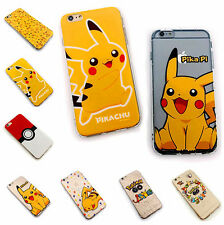 New Pokemon Pikachu air cushion TPU Soft Case Back Cover for iPhone 6 6S Plus