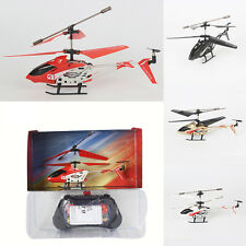 Gyro Aircraft Kid Gift Helicopter RC Drone 2.4GHz LED 3.5CH Remote Control Radio
