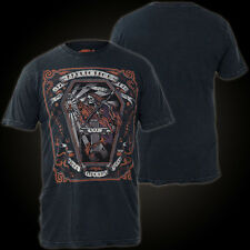Affliction T-Shirt Whitechapel Schwarz