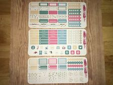 Tea Party Kit Pocket, Personal Planner Stickers for All Planners Types