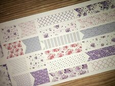 Touch of Lavender Extras Pocket Personal Planner Stickers for All Planners Types