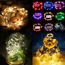 4M 40 LED MICRO WIRE STRING FAIRY PARTY XMAS WEDDING CHRISTMAS LIGHT DECOR LAMP
