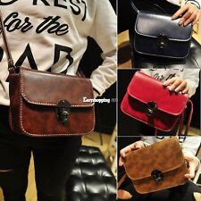Retro Women Leather Bolso Bandolera Bolso De Mano Cartera bandolera Hobo ESPN