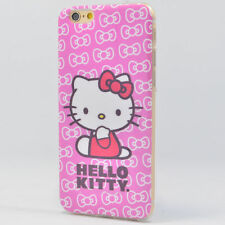Hello Kitty Hülle Apple iPhone 6 6S Plus TPU Case Bling Bling Cover Schale Etui