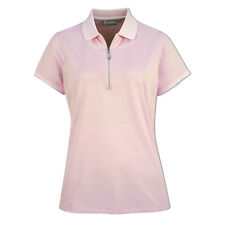 Glenmuir Zip-Neck Polo Shirt with Performance Fit - Last One Small Only Left