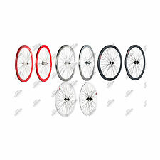 COPPIA RUOTE FIXED SINGLE SPEED HIGH ROLL 400 COASTER BRAKE WHEELSET