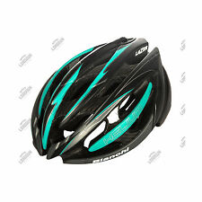 CASCO BIANCHI HELIUM + LED TAILLIGHT INTEGRATED BICI STRADA ROAD BIKE HELMET