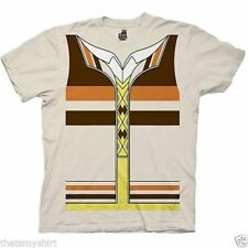 New Authentic The Big Bang Theory Raj Trompe Loeil Adult Costume T-Shirt
