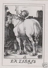 EX LIBRIS BOOKPLATE The Large Horse