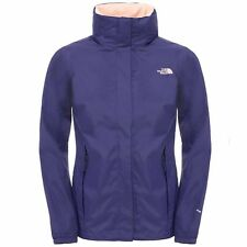 The North Face W RESOLVE JACKET Veste Capuche Femme Bleu Hyvent