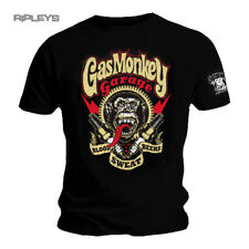 Official GMG T Shirt Gas Monkey Garage SPARKPLUGS Blood Sweat All Sizes