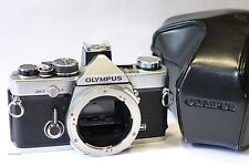 Olympus OM-2 35mm SLR camera body & shoe 2, fully working OM2, OM lens mount