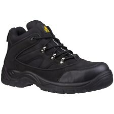 Amblers FS151 Safety Mens Black Steel Toe Cap Industrial Work Boots Shoes UK4-13