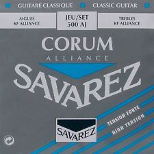 Savarez 500AJ Corum Alliance - high tension - Carbonsaiten