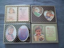 "Mini Photo Frame Multiple Designs Holds 3""x2"" Photos Your Choice Great Gift Idea"
