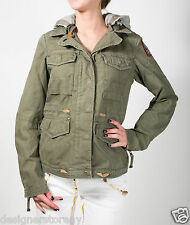Parajumpers Army Cotton Rose Short Parka Jacket